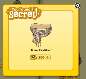 Brown Plaid Scarf