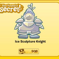 Ice Sculpture Knight