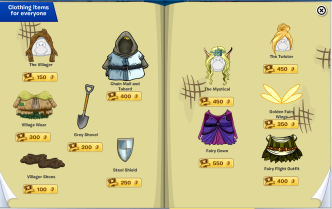 Mystical items